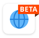 Web Beta Icon